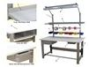 1,000 LB. CAPACITY ROOSEVELT SERIES WORKBENCHES - WITH HEAVY FORMICA??? LAMINATE TOP