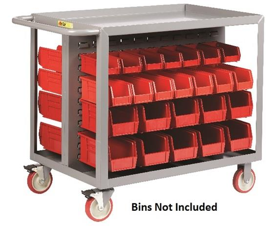 ALL-WELDED BIN CART