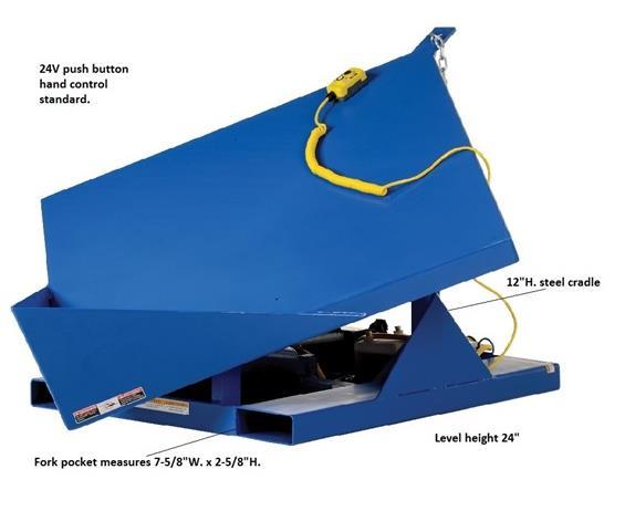 ELECTRIC HYDRAULIC CORNER TILTER